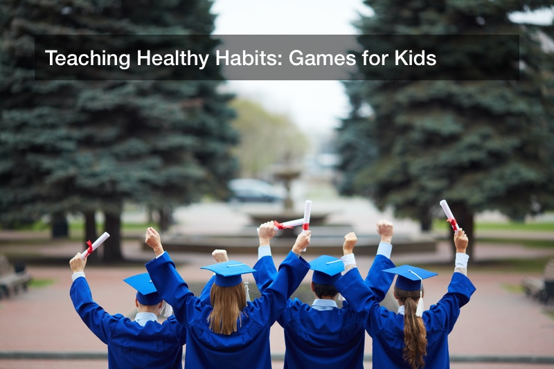 Teaching Healthy Habits: Games for Kids